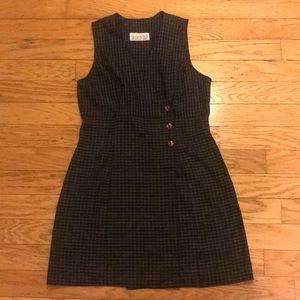 Vintage checkered dress